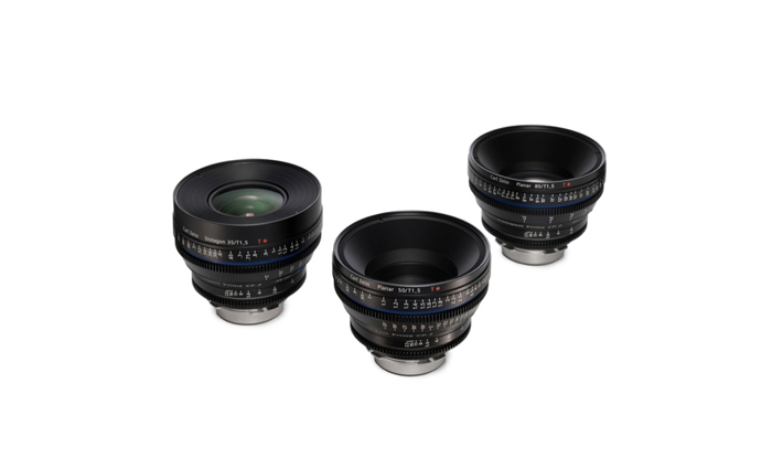 Zeiss Compact Prime Cp.2 Super Speed Pl Lenses