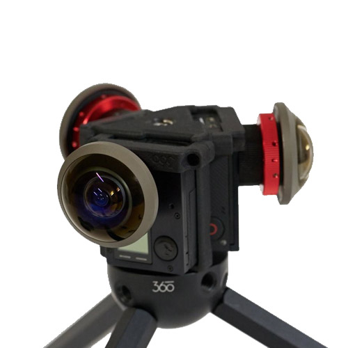 Freedom360 Broadcaster X3 Full Combo With 250 Entaniya Lenses