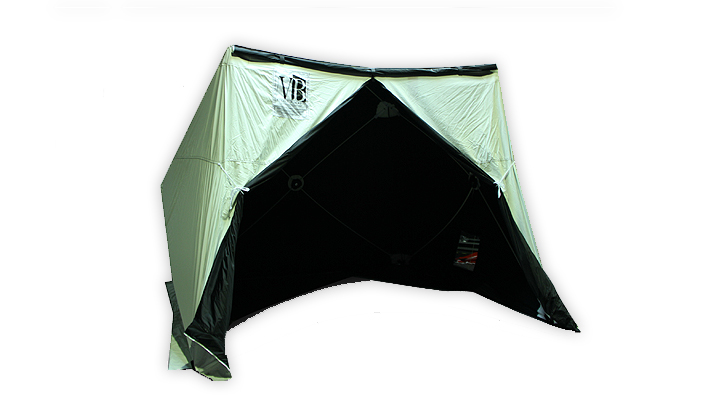 VILLAGE BLACKOUT TENT 8X8