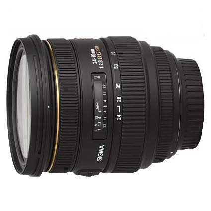 24-70mm f/2.8 IF EX DG HSM Lens for Canon EF